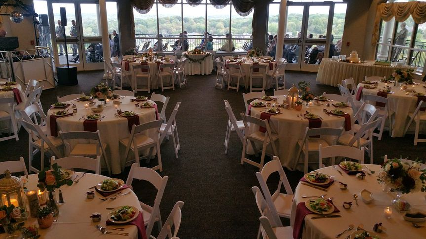 Dining Room Set for 100 guests