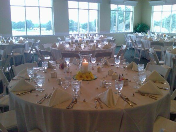 Seating in banquet hall