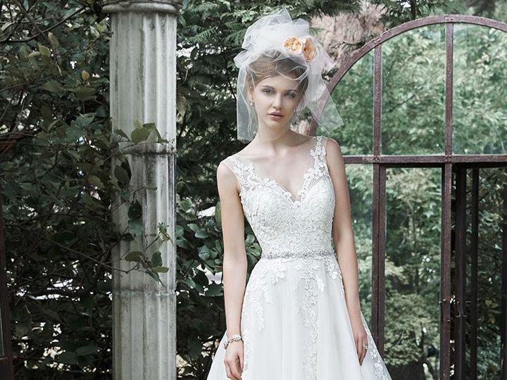 Tmx 1507228730479 Maggie Sottero Wedding Dress Sybil 5ms701 Front Leesburg, District Of Columbia wedding dress