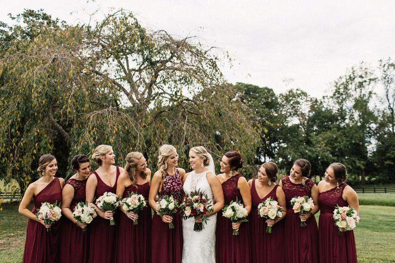 KMD Bride & Bridesmaids