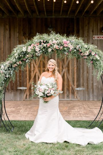 KMD Bride & her Moongate