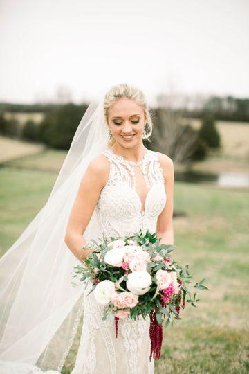 KMD Bride & her Winter Bouquet