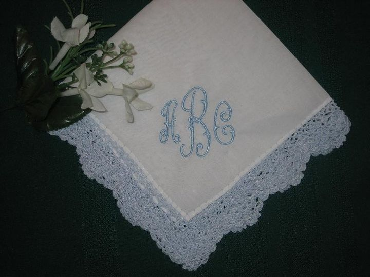Tmx 1433014034300 Bluehanky1 Willow Grove wedding favor
