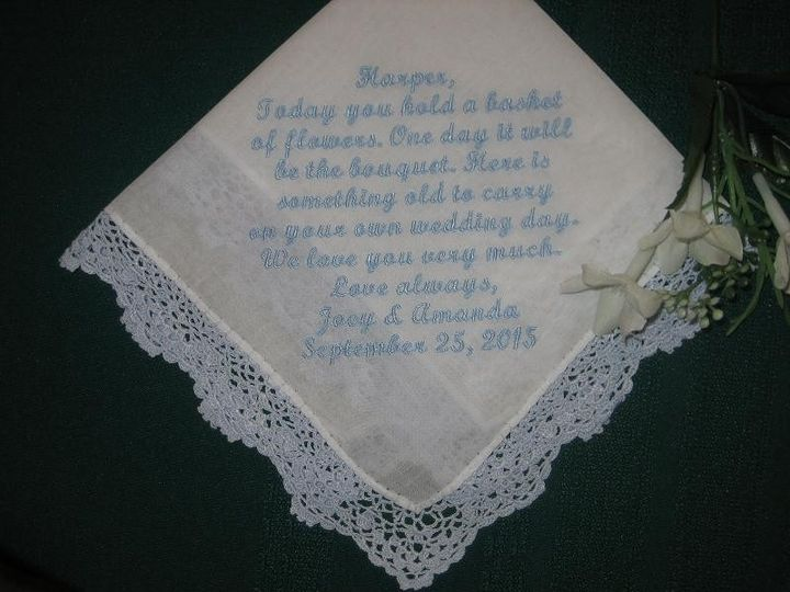 Tmx 1433014037864 Bluehanky2 Willow Grove wedding favor