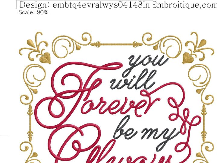 Tmx 1433014088872 Embtq You Will Forever Always So Willow Grove wedding favor