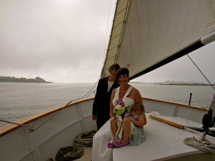 A beautiful sail in Casco Bay