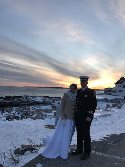New Years Eve at the Nubble