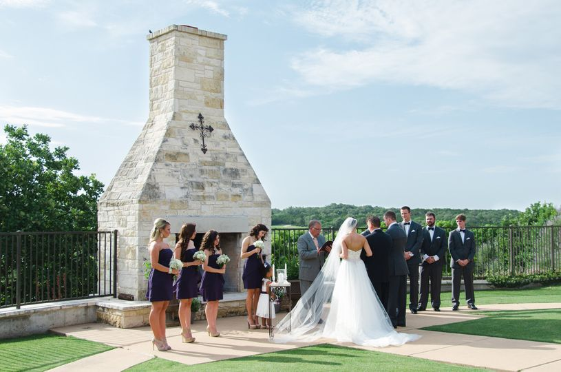 willard wedding ceremony overlook