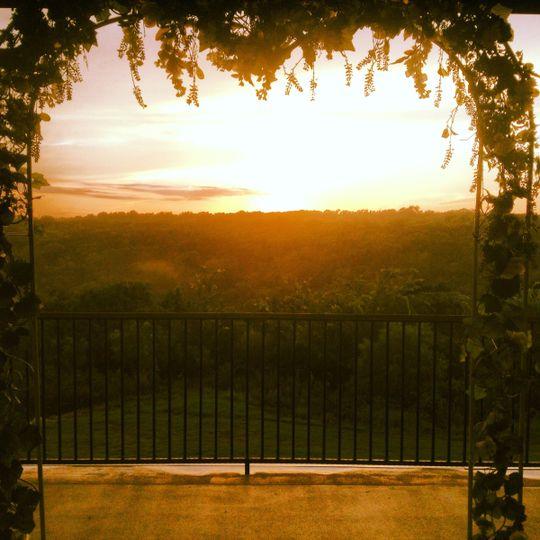 Sunset ceremony