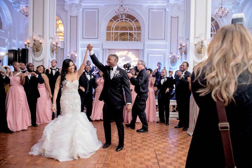 first dance bride trumpet gown adriennekeith wedd 0851 51 148902 160865688714970