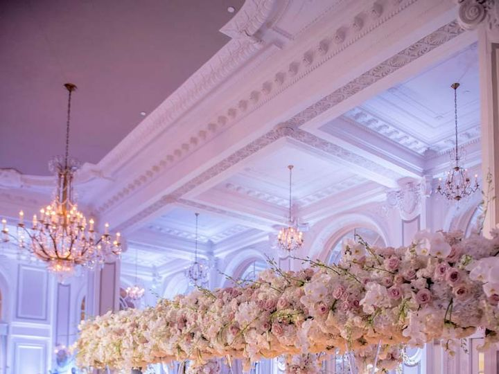 Tmx Reception Ballroom Longshot Rose Hydrangea Tall Center Pieces Adriennekeith Wedd 0794 51 148902 160865688880422 Atlanta, Georgia wedding venue