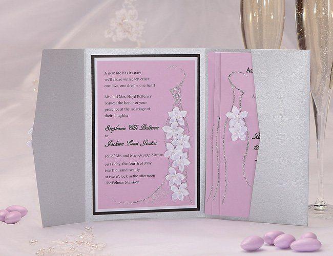 Belle Wedding Invitation