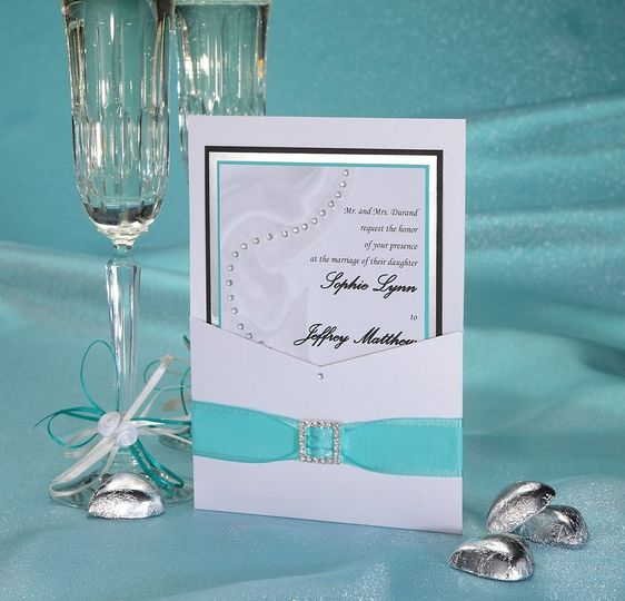 Tres Jolles Wedding Invitation