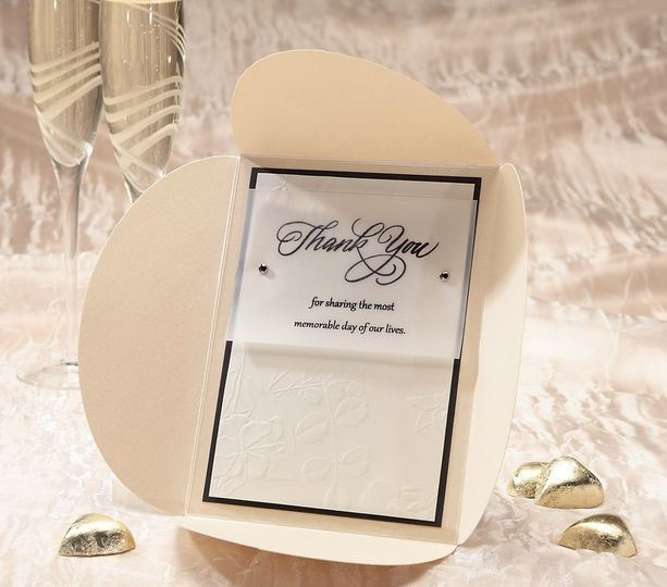 Luxe Thank You Card