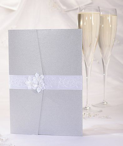 Tmx 1348299679466 BelleWCOutsideRibbonwithFlowers Dallas wedding invitation