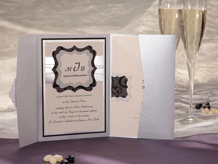 Tmx 1348299761297 MagnifiqueWCOpenInvitationICON Dallas wedding invitation