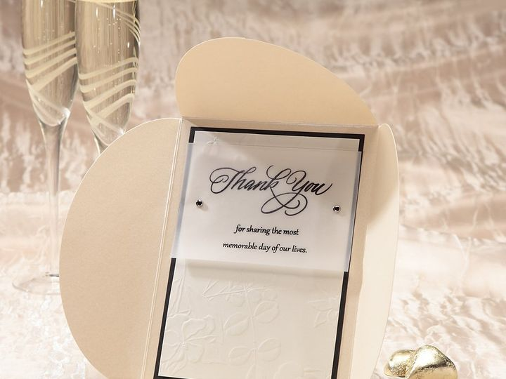 Tmx 1348299851546 LuxeWCThankYouNoteICON Dallas wedding invitation