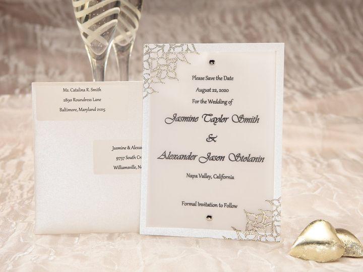 Tmx 1348299906806 LuxeWCSTDICON Dallas wedding invitation