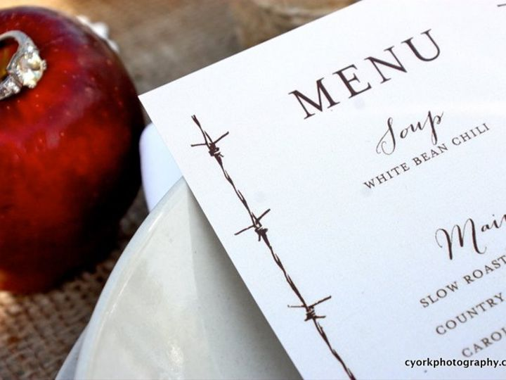 Tmx 1356010399551 Westernmenu Forest Hills, NY wedding invitation