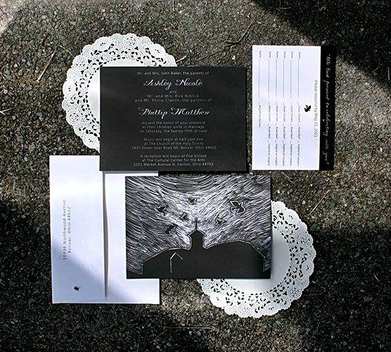 Tmx 1356010552820 AshleyB1 Forest Hills, NY wedding invitation