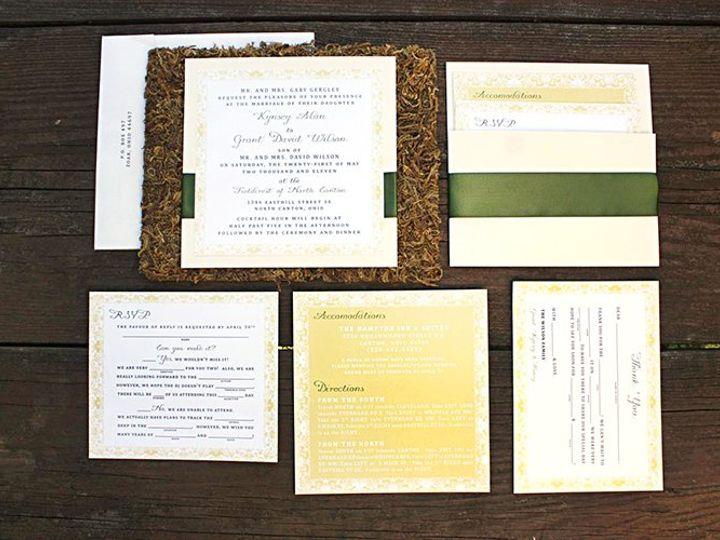 Tmx 1356010653145 Kynsey1 Forest Hills, NY wedding invitation