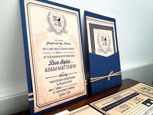 Tmx 1356010678183 Reva1 Forest Hills, NY wedding invitation