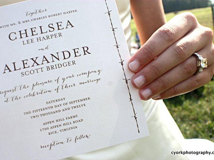 Tmx 1356010707421 Westerninvite Forest Hills, NY wedding invitation