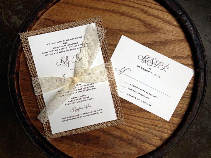 Tmx 1385393992114 Kelly  Forest Hills, NY wedding invitation