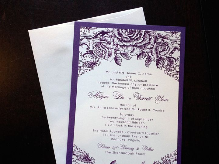 Tmx 1385394018759 Megan  Forest Hills, NY wedding invitation