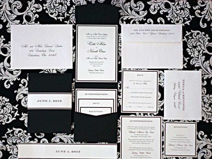 Tmx 1385394042016 Tekla  Forest Hills, NY wedding invitation