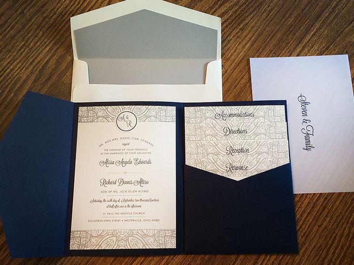 Tmx 1418235132349 Edwards 2 Copy Forest Hills, NY wedding invitation