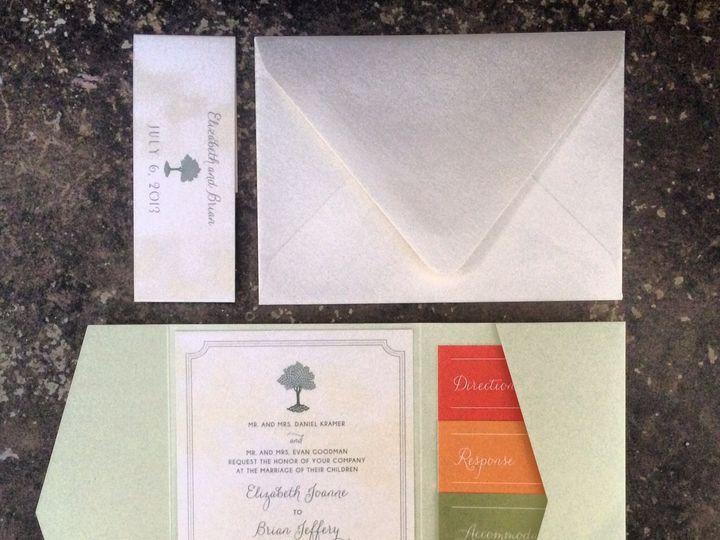 Tmx 1418235195948 Kramer Wed Forest Hills, NY wedding invitation