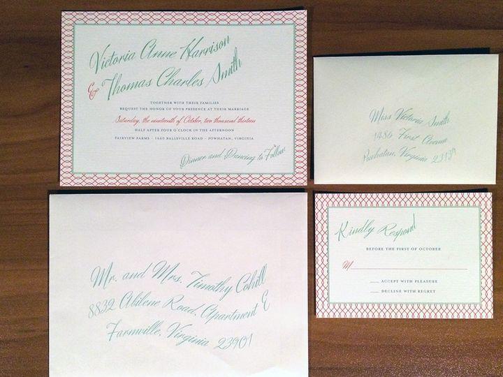 Tmx 1418235455806 Moody Shoot1 Forest Hills, NY wedding invitation