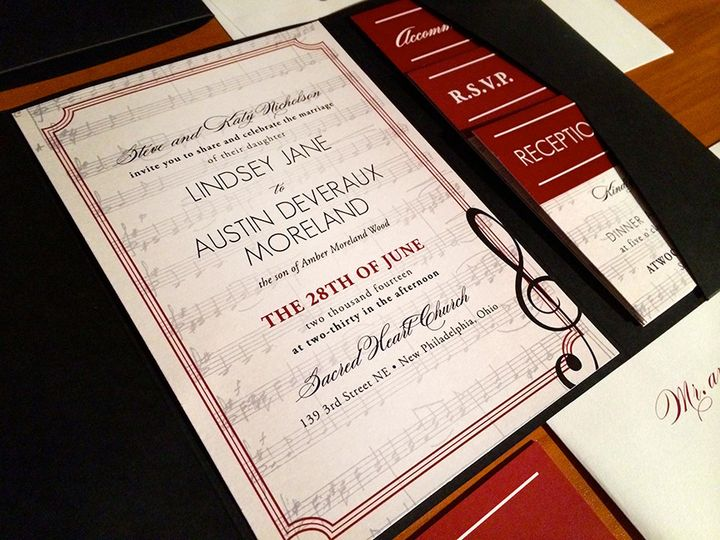 Tmx 1418235474785 Nicholson Wed Forest Hills, NY wedding invitation