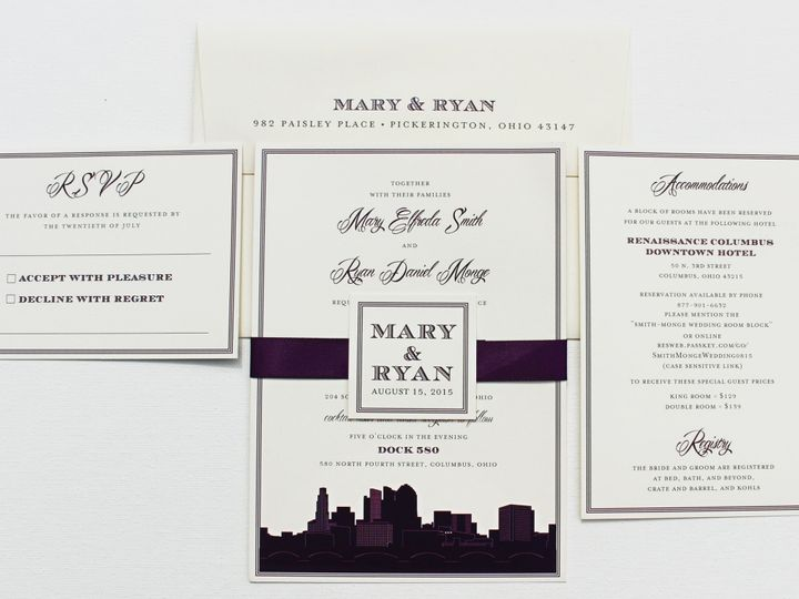 Tmx 1461518488645 Smith2 Forest Hills, NY wedding invitation