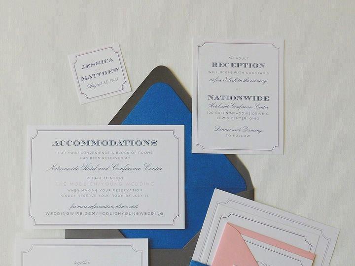 Tmx 1461518507897 Modlich2 Forest Hills, NY wedding invitation