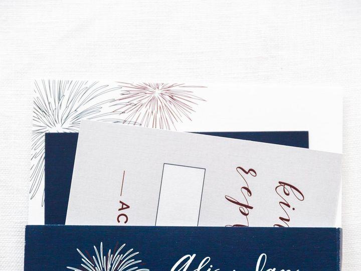 Tmx Jennas Invtites Ali 0011 51 501012 Forest Hills, NY wedding invitation