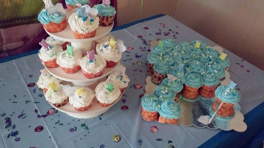 baby shower cupcaskes 4