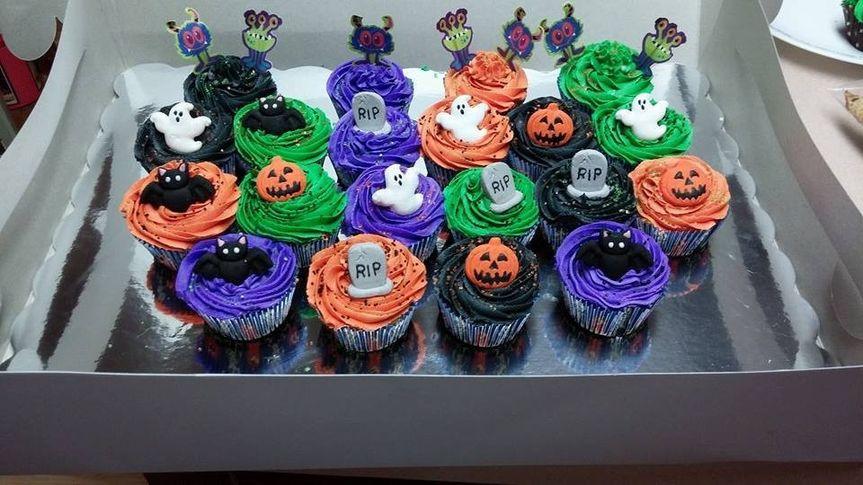 halloween cupcaskes