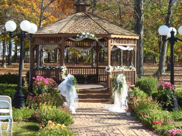 Gazebo decor