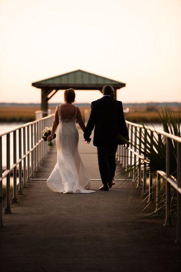 Georgia Sunset Wedding