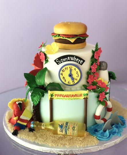 Margaritaville them cake