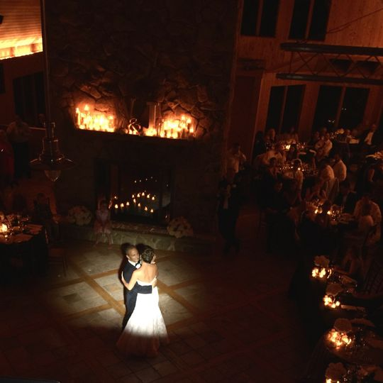 First dance in spotlight
