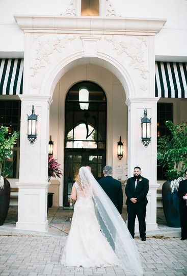 Long wedding trail