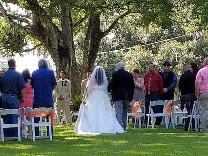 Ceremony at Saxon Manor Weddin