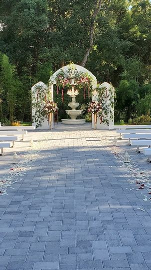 Butterfly Garden Ceremony
