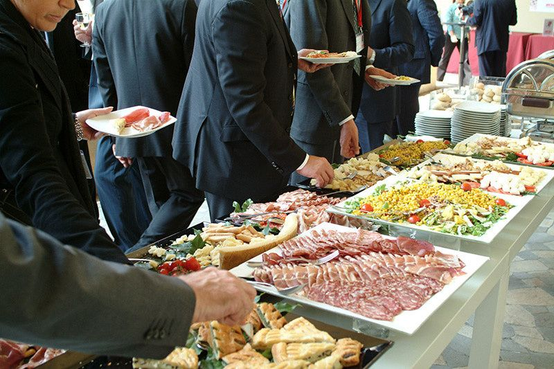 Corporate catering at our restaurant or your location 7 days and nights weekly