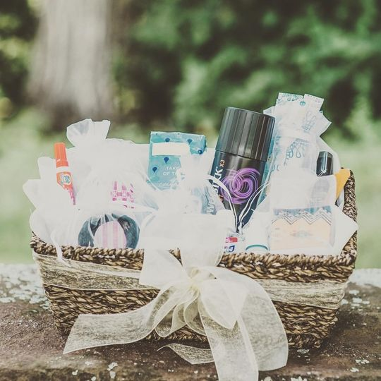 Wedding Amenity Basket