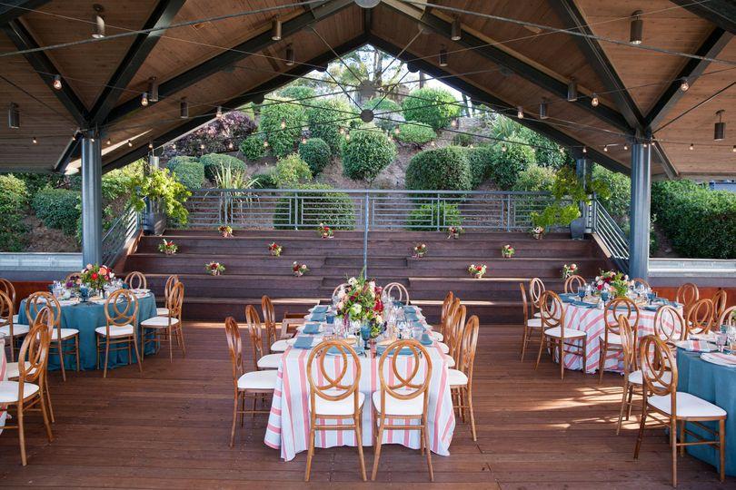 Dinner in Pavilion