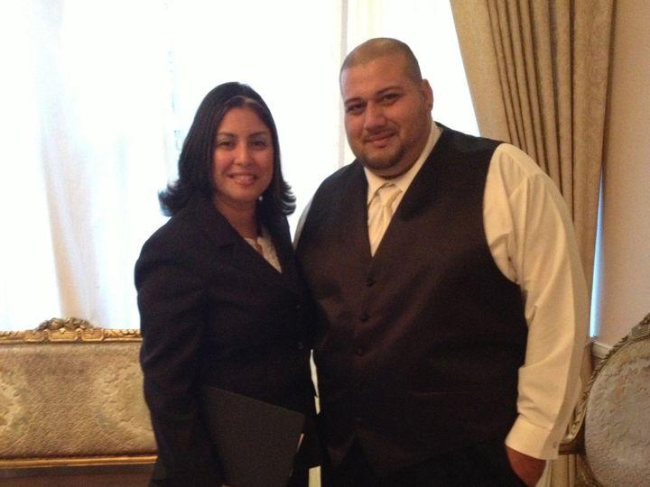 Tmx 1386175317085 Allison Wedding 201 College Point, NY wedding officiant